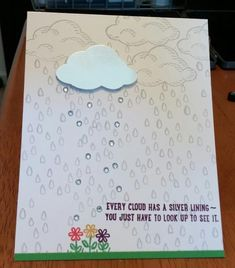 Silver Lining Rain Sprinkles