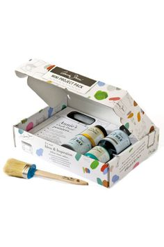 Crafty moms will love this Annie Sloan kit that features paints and waxes perfect for her next DIY project. ($82, anniesloan.com)