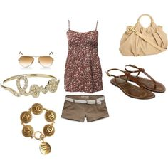 Love summer, created by snfcsh2010 on Polyvore