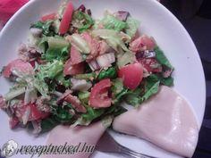 Gyors tonhalsaláta Meat, Chicken, Food, Essen, Meals, Yemek, Eten, Cubs