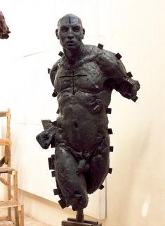 by javier marin Ceramic Sculpture Figurative, Figurative Art, Contemporary Sculpture, Contemporary Art, Art Du Monde, Javier Marin, Human Sculpture, Art Of Man, Vanitas