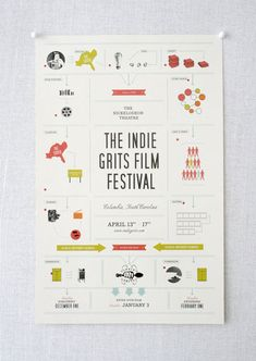 Love the Indie Grits logo! :: The Indie Grits Film Festival | designed by Stitch Design Co.