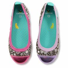 Our Dream Ballet Flats in Pure prints #chooze #choozeshoes #balletflats #dream