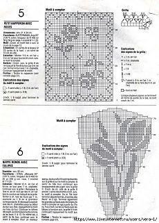 World crochet: Tablecloth 222