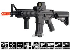 D Boy Full Metal M4 CQBR AEG Airsoft Gun... This would have to be my dream airsoft gun. I want it so bad.