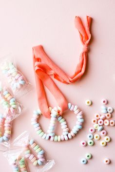 Upgrade your candy necklace with this fun twist on the classic party favor!