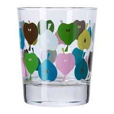 BISTÅ Bicchiere IKEA Grazie alla sua forma, questo bicchiere semplice, basso e dritto è perfetto per tutti i tipi di bevande fredde, senza ghiaccio.