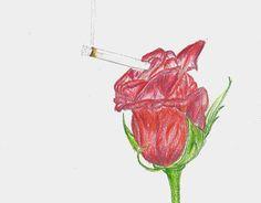 """Check out new work on my @Behance portfolio: """"Hoy puse un cigarrillo en la boca de una rosa y fumamos"""" http://be.net/gallery/51636821/Hoy-puse-un-cigarrillo-en-la-boca-de-una-rosa-y-fumamos"""