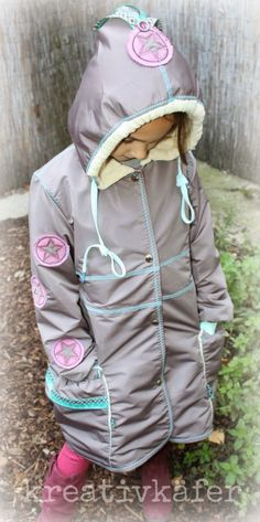 kreativkäfer: Tinka Bella coat, pattern by farbenmix.de #farbenmix #sewing #nähen