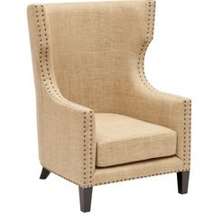 Berne Single Chair - Furniture - Chairs - Fabric