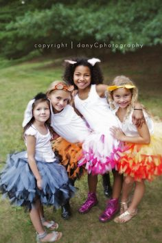 Winnie The Pooh Inspired tutus