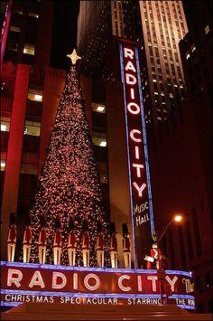 New York during Christmas