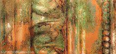 Artisan Enhancements + Chalk Paint® by Annie Sloan copper verdigris finish. {Sponsored}