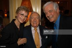 Nina Clooney, Walter Cronkite and Nick Clooney attend Walter Cronkite Hosts a…