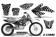 HONDA CRF 70 80 100 GRAPHICS KIT CREATORX DECALS STICKERS ZCW   Need this for my bike! & it would match my gear!