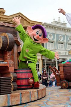 Dopey Celebrates A Dream Come True