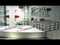 ▶ In with the New - Vodafone, perspective, typography, font, 3d, 2d, art department