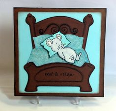 Rest and Relax - Handmade Card by Susan Sieracki Rest And Relaxation, Take It Easy, Copic Markers, Homemade Cards, I Card, Paper Crafts, Weather, Stamp, Projects