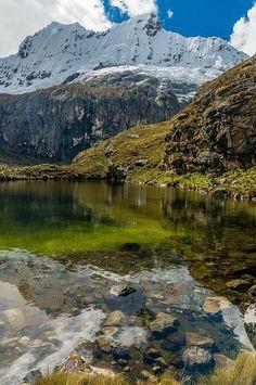 The Andes - Cordillera Blanca, Perú