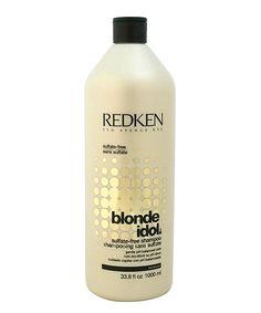Love this Redken Blonde Idol Sulfate-Free Shampoo by Redken on #zulily! #zulilyfinds