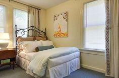 Dwell with Dignity » Projects Serene bedroom designed for a mom working toward self-sufficiency.