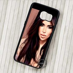 Kim Kardashian Beautiful Girl - Samsung Galaxy S7 S6 S5 Note 7 Cases & Covers