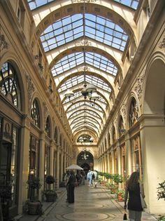 Les Passages in Paris Galerie Vivienne