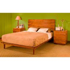 Tucker Furniture Tucker Furniture Sideways Panel Bed