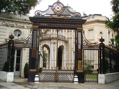 Museo Nacional de Arte Decorativo main entrance from the former Errázuriz Palace. Buenos Aires.