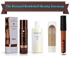 The Bronzed Bombshell Beauty Giveaway - Win Skincare and Makeup