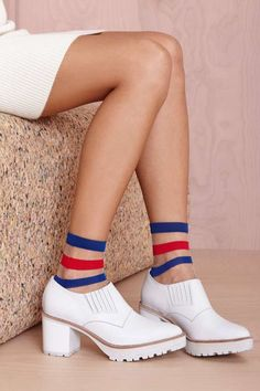 Courtside Socks | Shop What's New at Nasty Gal