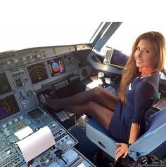 hot stewardess