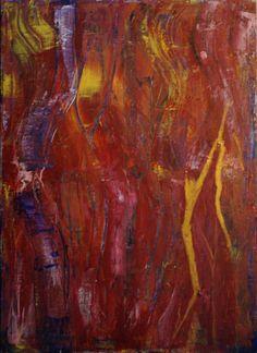 "Artist: Lijda Zuijderuijn; Acrylic on canvas. ""Summertime"""