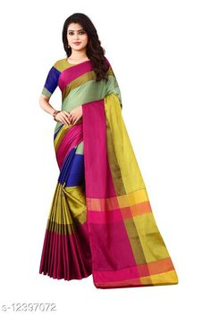 Sarees Colorful Art Silk Saree Fabric: Saree - Art Silk  Blouse - Art Silk  Size: Saree Length With Running Blouse- 6.3 Mtr Work - Printed  Country of Origin: India Sizes Available: Free Size   Catalog Rating: ★4 (427)  Catalog Name: Free Mask Bettina Art Silk Sarees With Tassels And Latkans CatalogID_112606 C74-SC1004 Code: 733-12397072-687