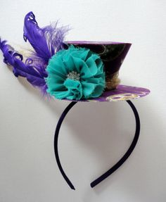Mardi Gras Party Hat by alphabulous on Etsy, $32.00