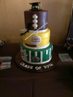 Graduation Cakes on Pinterest | Graduation Cake, College Graduation C…