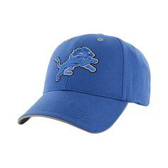 NFL Twins Enterprise Men's Official Replica Adjustable Baseball Hat - Detroit Lions