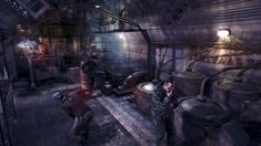 This image is from Metro Last Light. It shows a settlement under Moscow in the metro tunnels. This is where families, traders and doctors would stay, and in the game, they're eventually attacked by gangs. Metro Last Light, Metro 2033, Mood Light, Metro Station, Post Apocalypse, Best Games, League Of Legends, Survival, Fallout
