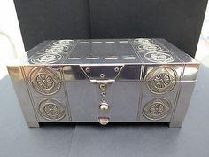 WMF Secessionist Art Nouveau Silver Plated Box