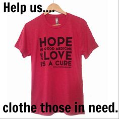 The wings of HOPE carry us, soaring high above the driving winds of life. ~Ana Jacob YOU can spread hope at this year's HopeFest! Your $25 donation will clothe one person in need with this inspirational shirt AND we will send you the same shirt as a reminder of hope that will be soaring through the hearts of the people at HopeFest! Let's help others rise. Are you in? http://www.revelationwellness.org/events/hopefest/donate/