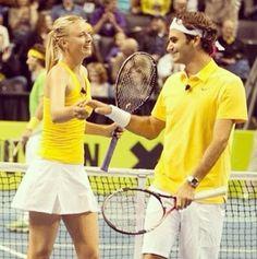 Federer & Sharapova-what?!