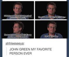 ...... oh John green