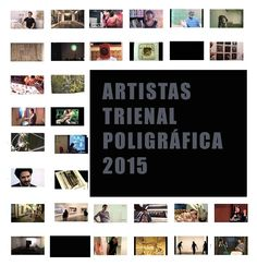 Want to know more of the artists in the Triennial Poligrafica? Autogiro has released this list of vídeos to know the proposals.