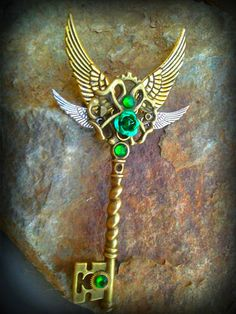 fantacy art keys | Emerald Sunrise Fantasy Key by Starl33na on deviantART
