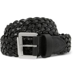 Mulberry  Woven-Leather Belt  | MR PORTER