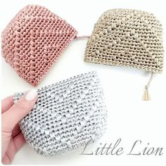20 Ideas Crochet Bag Easy Pattern Coin Purses For 2019 - Emily Christensen - 20 Ideas Crochet Bag Easy Pattern Coin Purses For 2019 20 Ideas Crochet Bag Easy Pattern Coin Purses For 2019 basics of at Crochet Wallet, Crochet Coin Purse, Crochet Purse Patterns, Crochet Purses, Crochet Stitches, Knit Crochet, Crochet Backpack, Crochet Basics, Crochet Crafts