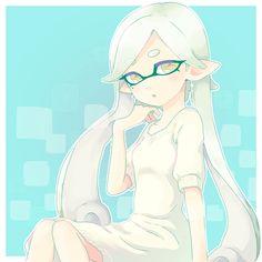 「秋のイカ+2」/「liruty」の漫画 [pixiv] #SquidSisters #Marie