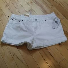 I just added this to my closet on Poshmark: Polo Ralph Lauren White Denim Shorts size 16. Price: $30 Size: 16G