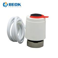 Actuator termic BeOk RZ-AV230-NC Normal inchis folosit pentru instalarea pe bornele termale de distributie ( incalzire in pardoseala sau supape termostatice). Ultra Hd 4k, Water Bottle, Water Bottles