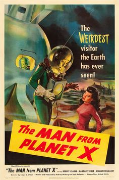 The Man from Planet X (United Artists, 1951) |